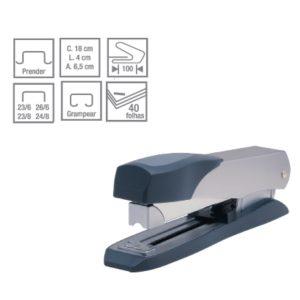 Grampeador Manual Basico Metalico C-15-0