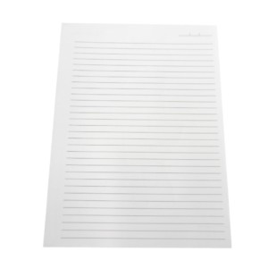 Miolo Caderno Pequeno Branco 140x200 mm-0