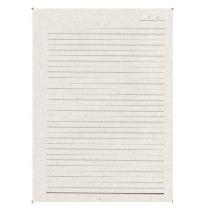 Miolo Caderno Pequeno Reciclato 140x200 mm-1371